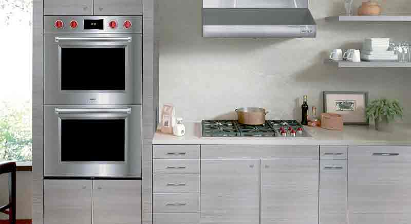 side by side double ovens