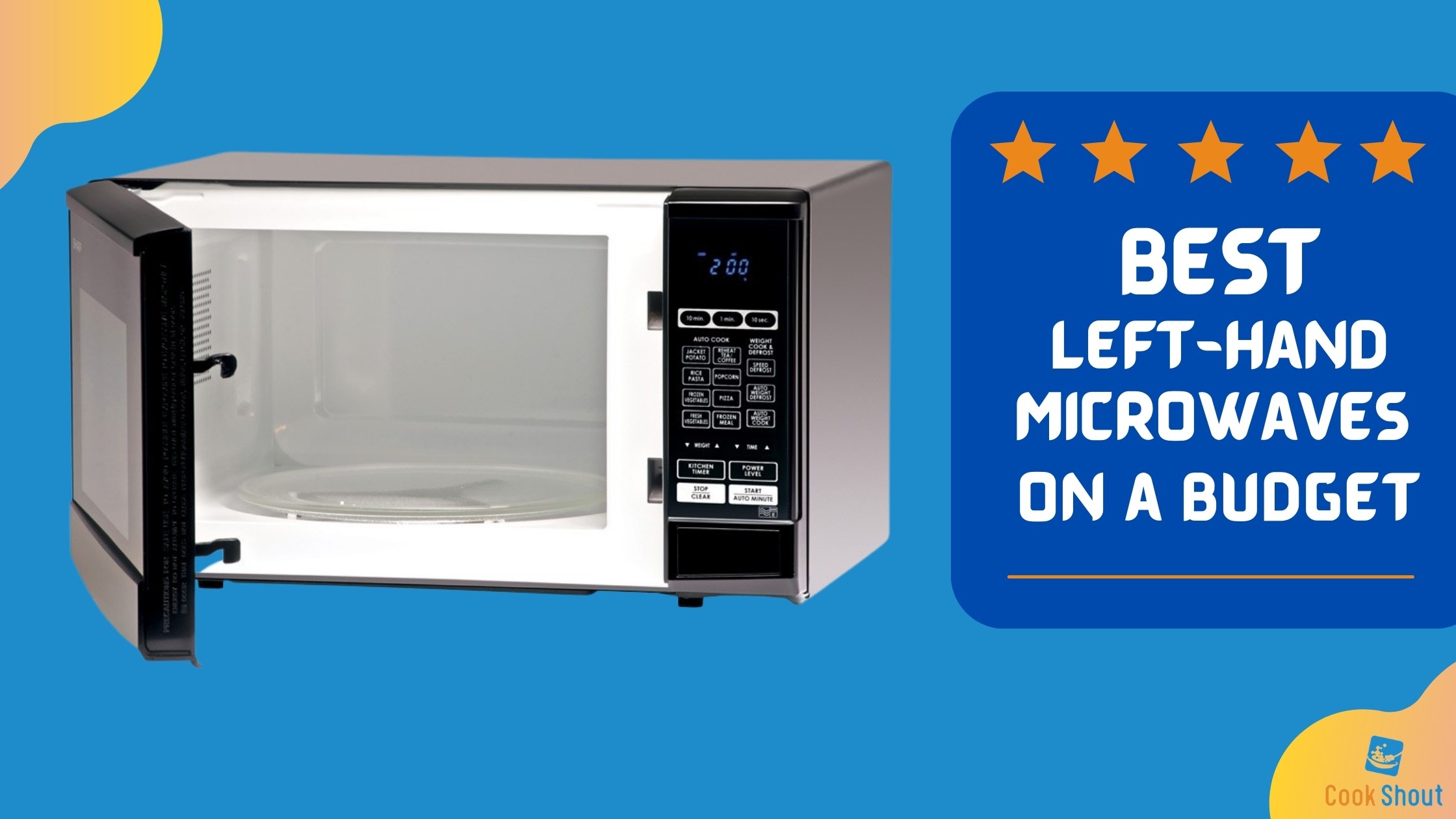 Best Left Hand Microwaves On a Budget