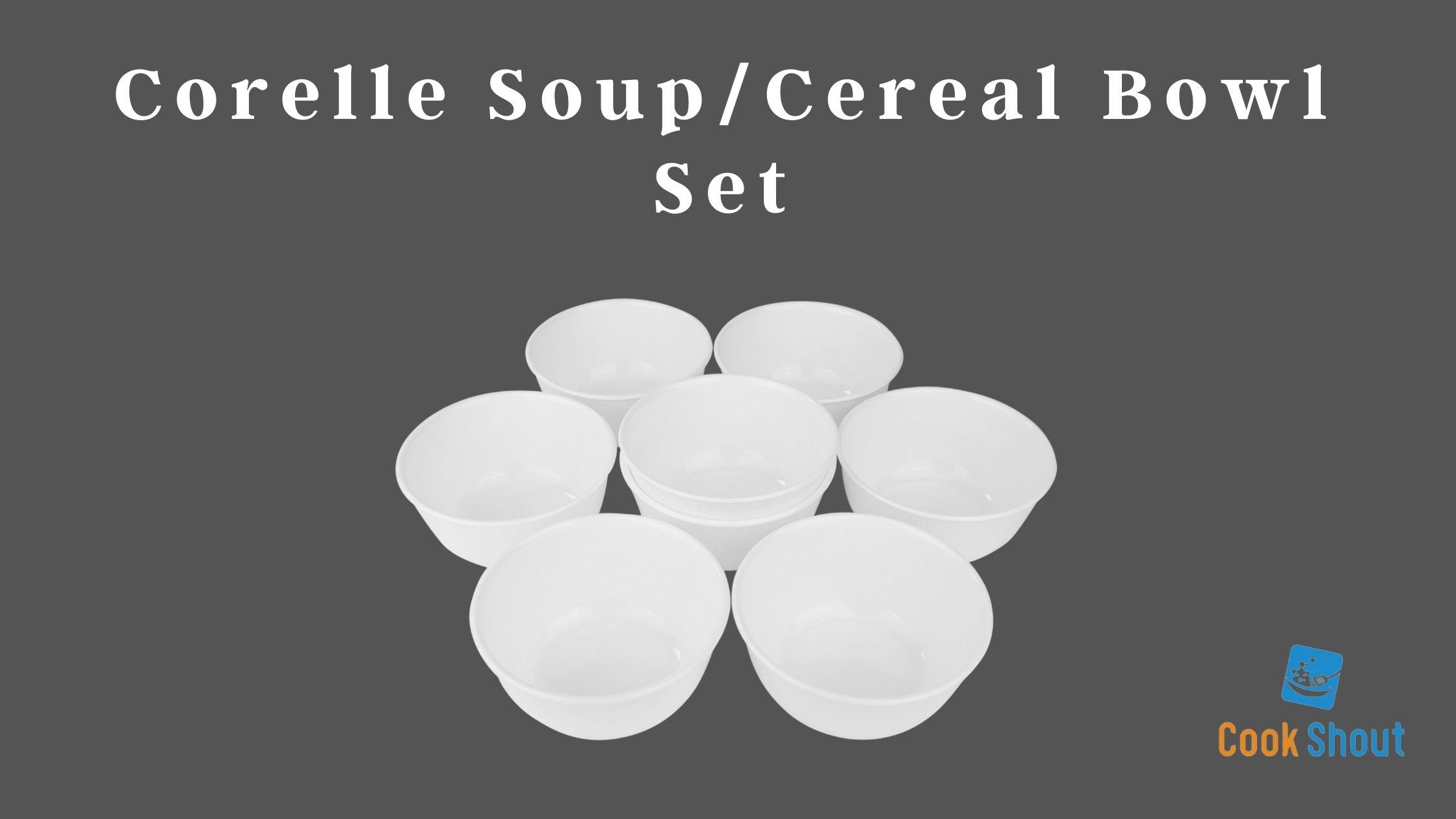 Corelle Soup Cereal Bowl Set