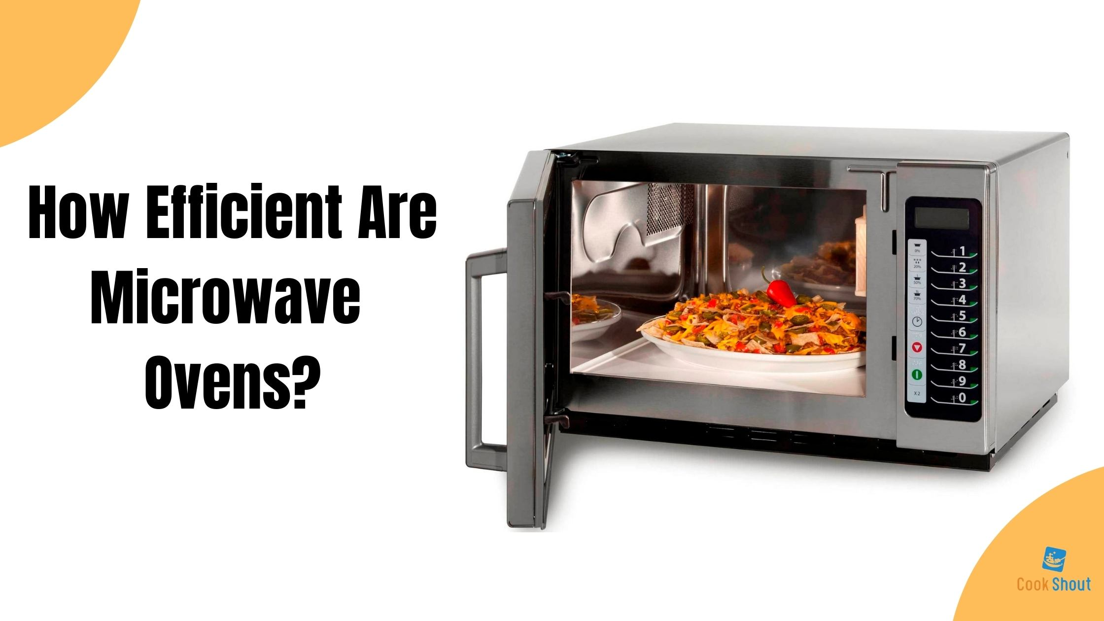 How Efficient Are Microwave Ovens?