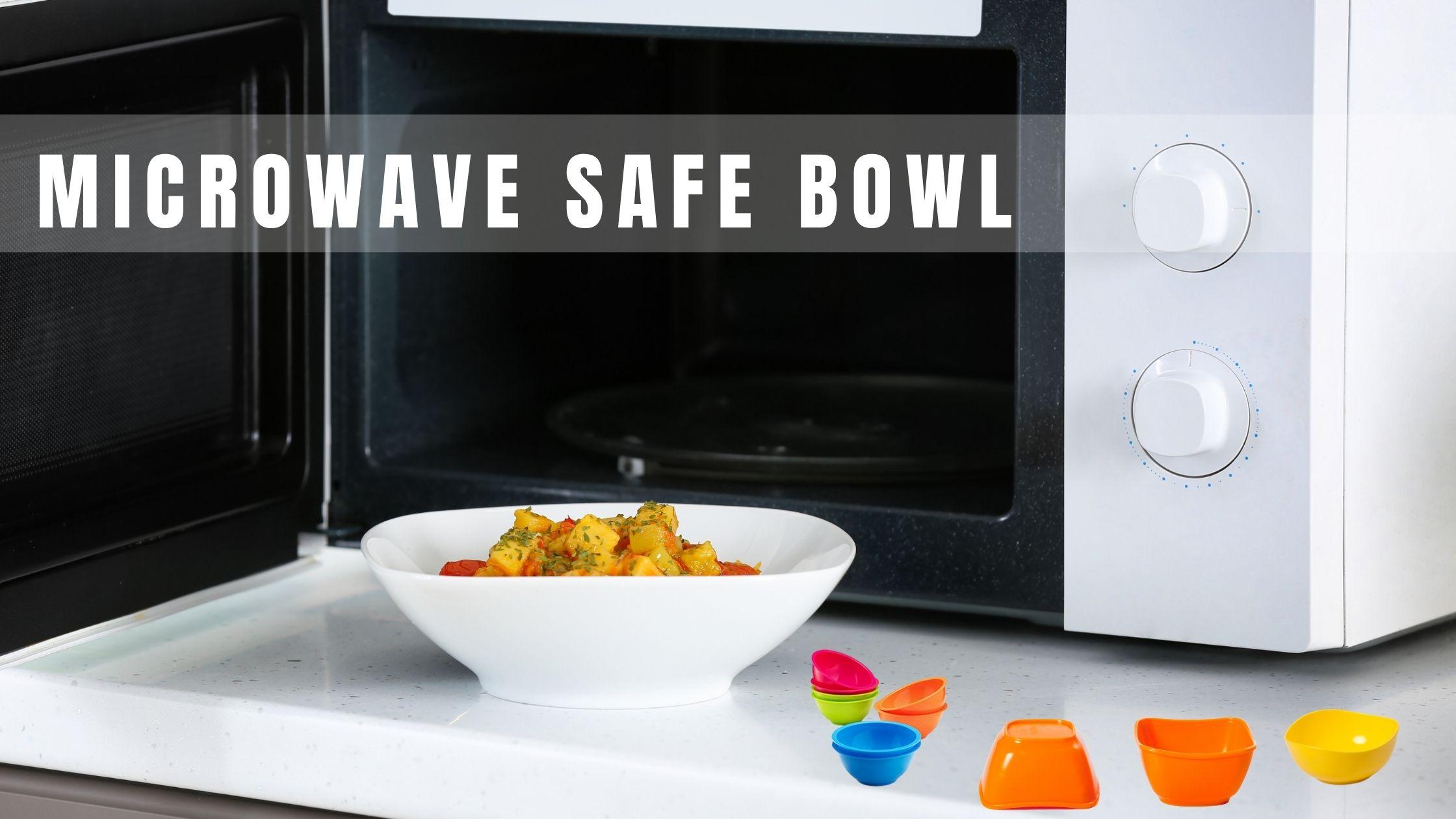 Microwave Safe Bowl