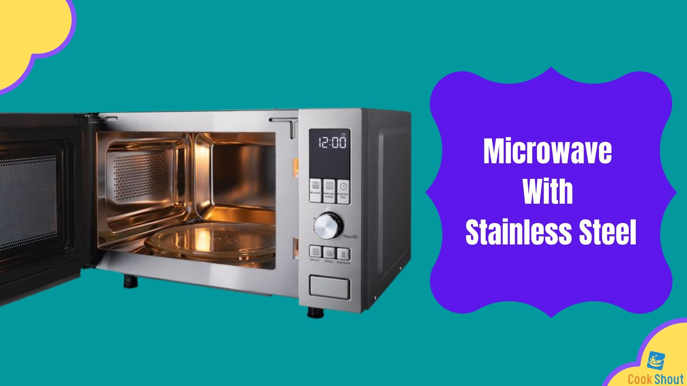 Microwave With Stainless Steel 2021