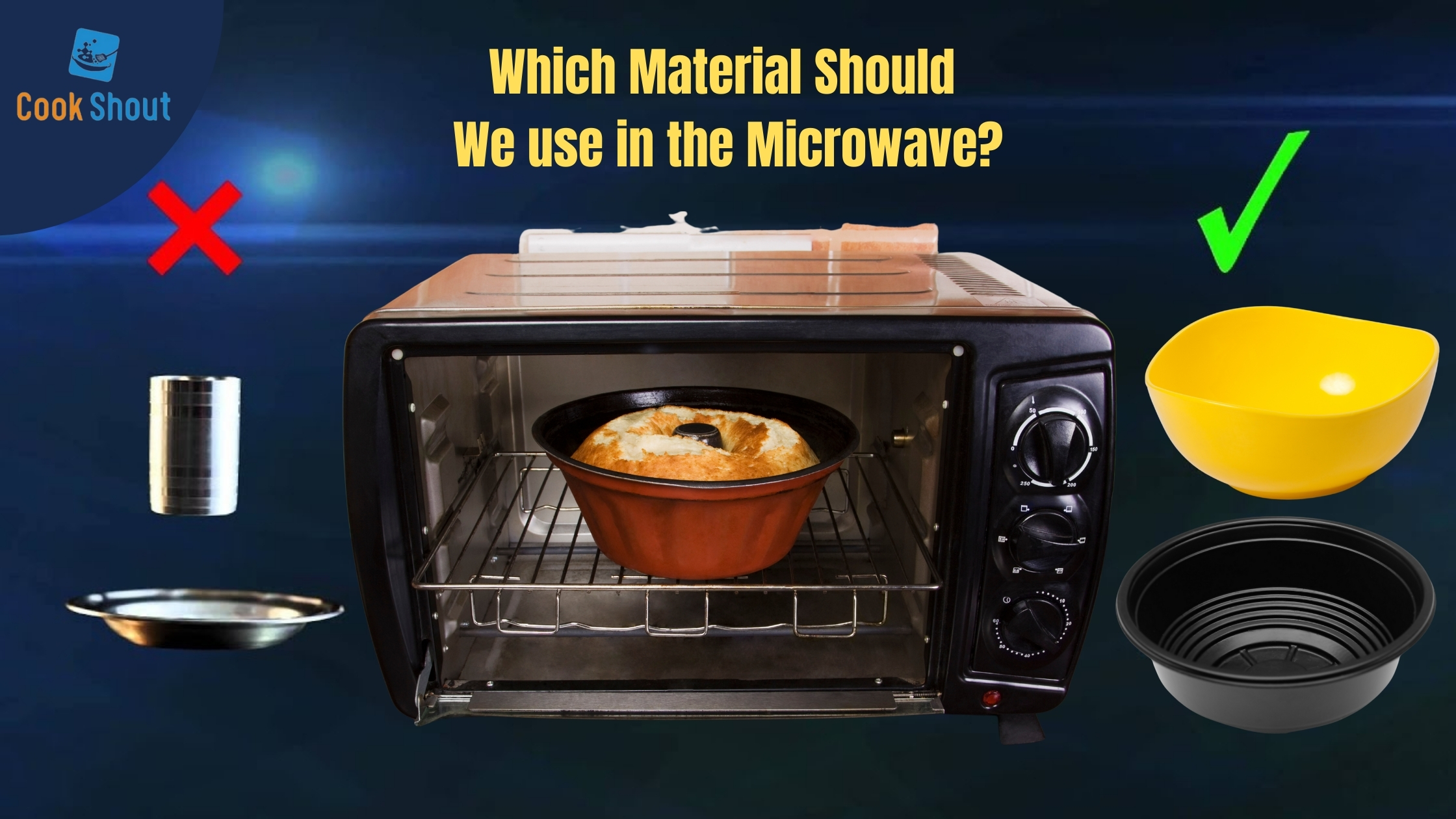 Microwave Use Wrong and Right Materials
