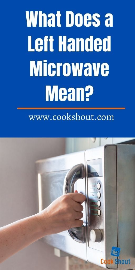 What is a Left Handed Microwave
