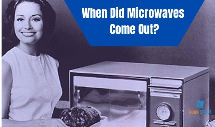 when did microwaves first come out