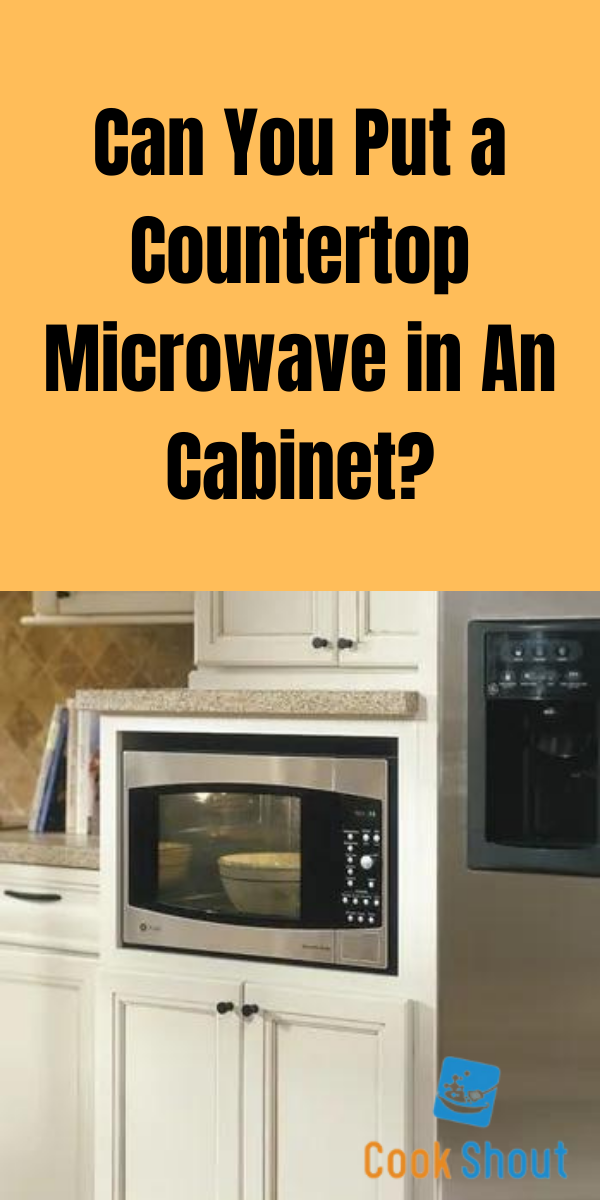 Can You Put An Over The Range Microwave In An Cabinet?