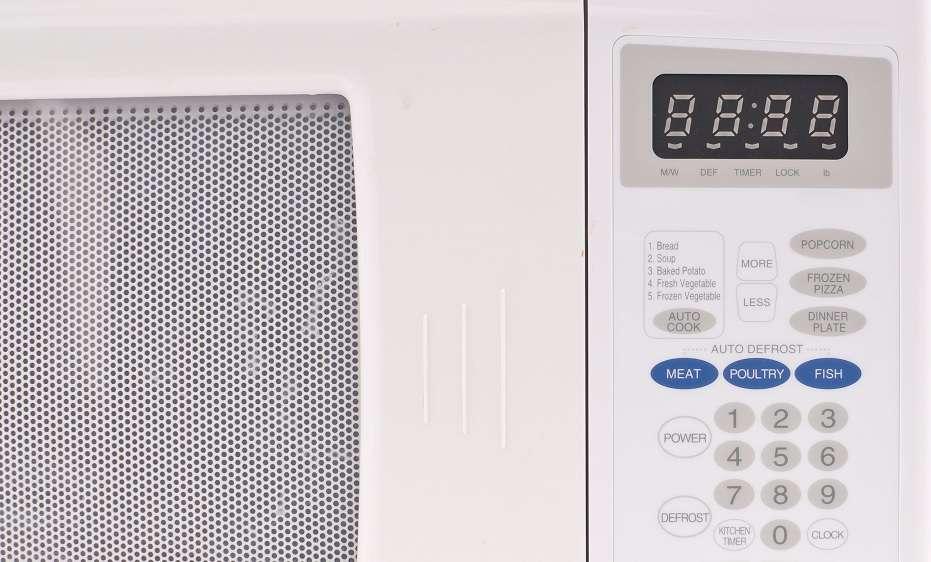 Is 1200 watt microwave too much?