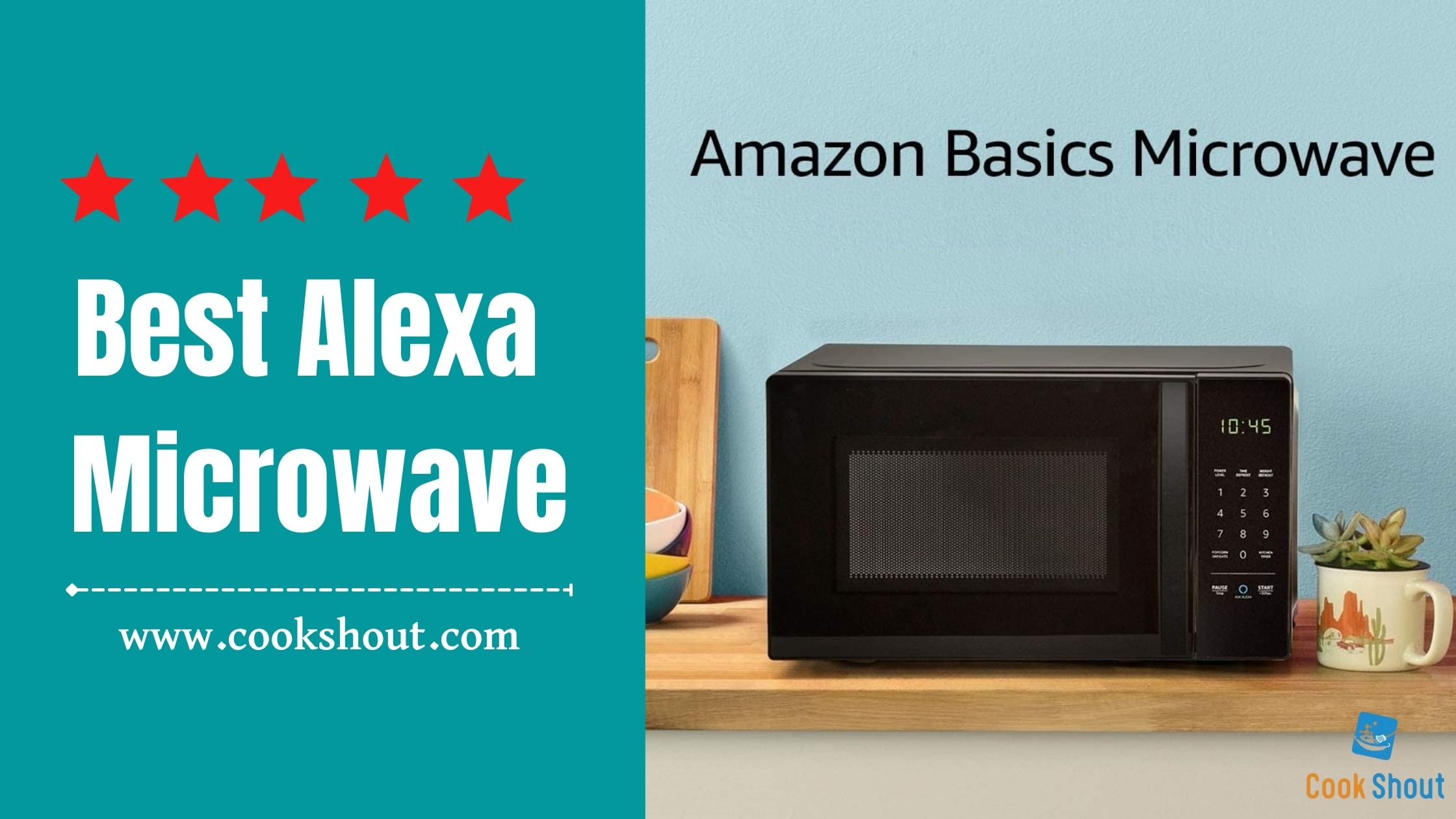 Best Alexa Microwave