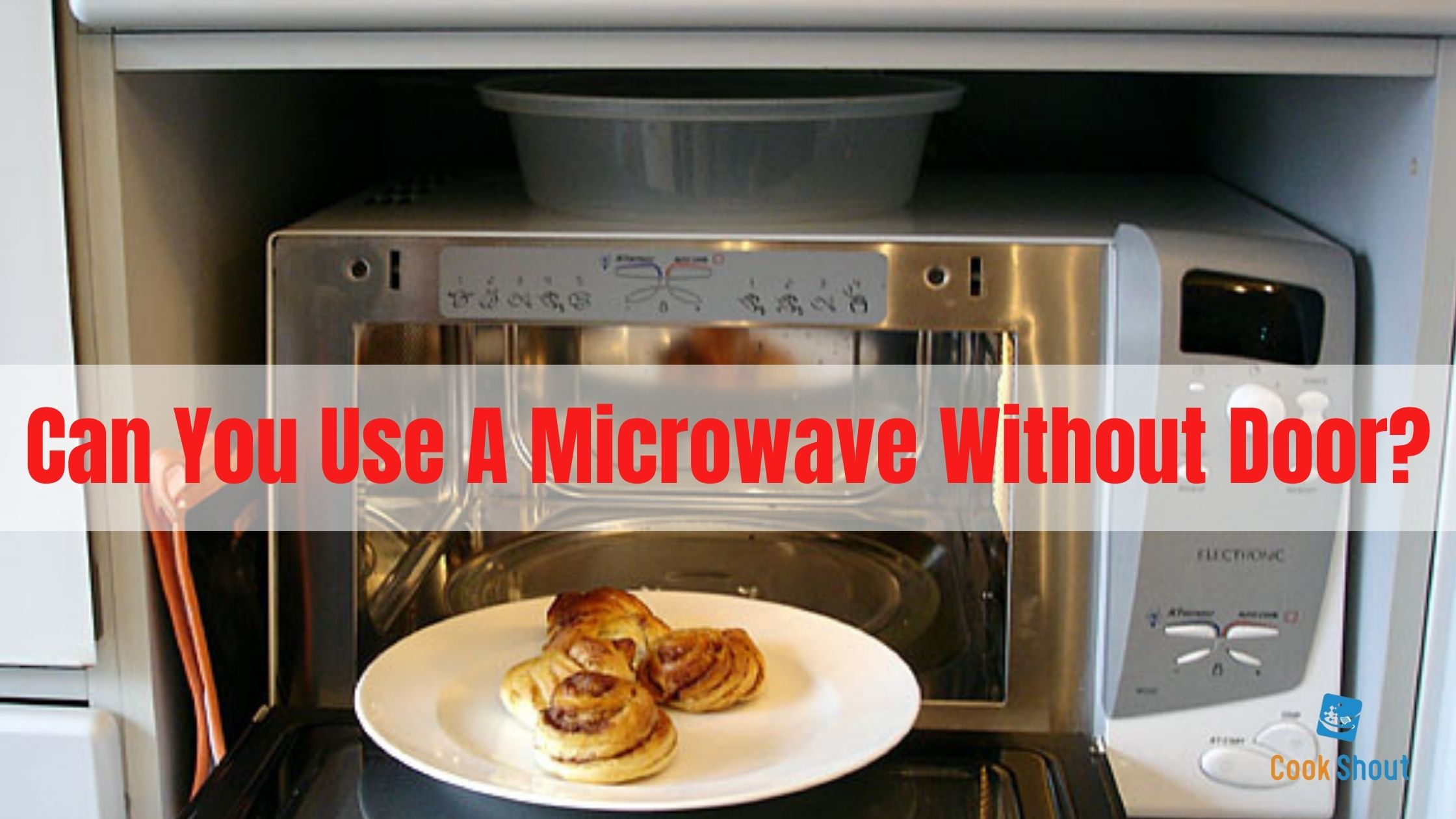 Can You Use A Microwave Without Door